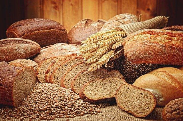 pečivo a pšenice