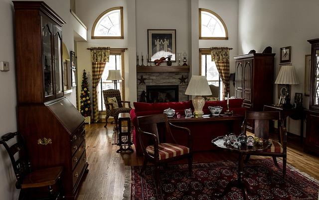 starožitný obývák