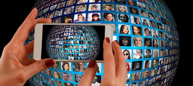 fotomontáž na mobilu