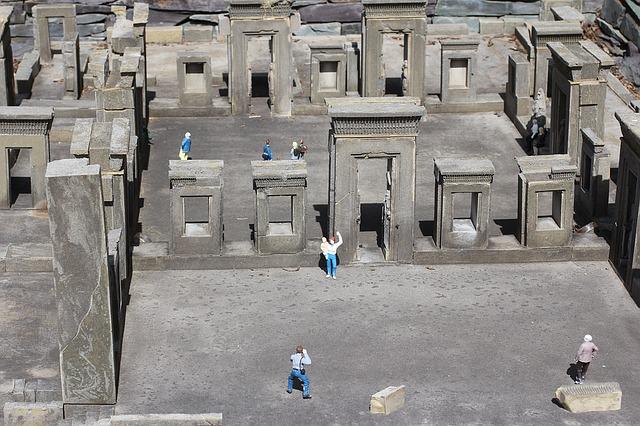 Návštěva archeologické památky